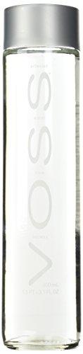 Voss Voss Artesian Water (Still) Glass Bottles, 27.1-Ounce (Pack of 6)