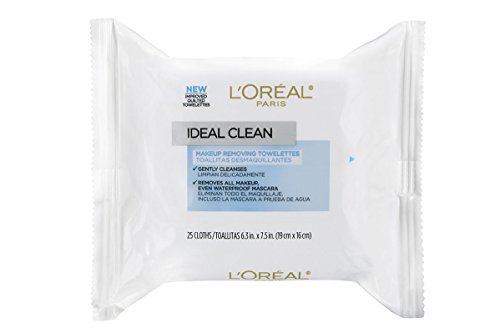 L'Oreal Paris - L'Oréal Paris Ideal Clean Makeup Removing Towlettes, 25 ct.