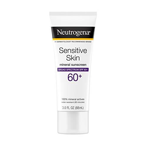 Neutrogena - Sensitive Skin Sunscreen Lotion with Broad Spectrum SPF 60+