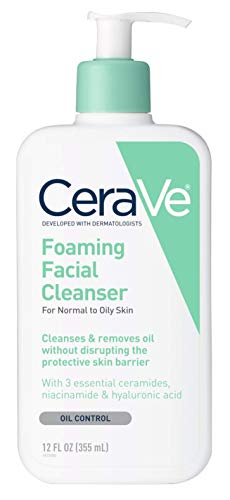 Cerave - Cerave Facial Foaming Cleanser 12 Ounce Pump (355ml) (2 Pack)
