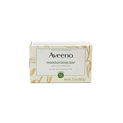 Aveeno - Aveeno Bar Dry Size 3.5 Ounce Aveeno Moisturizing Bar For Dry Skin (Pack of 3)