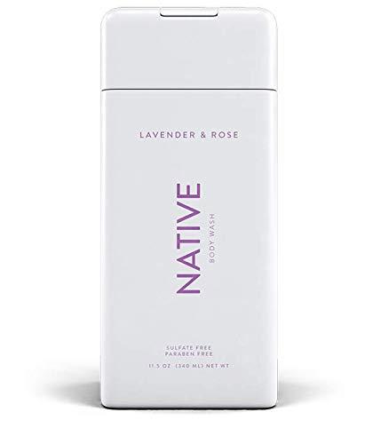 NATIVE Body Wash - Native Body Wash - Lavender & Rose - 11.5 oz (340ml)