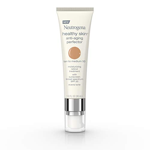 Neutrogena - Neutrogena Healthy Skin Anti-Aging Perfector Spf 20, Retinol Treatment, 50 Tan To Medium, 1 Fl. Oz.
