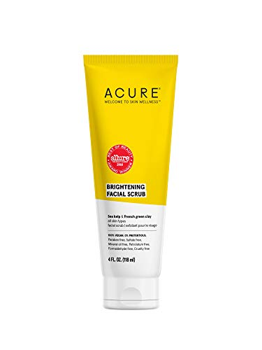 Acure - ACURE Brightening Facial Scrub, All Skin Types, 4 Fl. Oz.