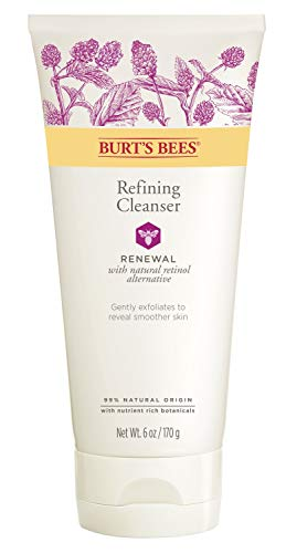 Burts Bees - Burt's Bees Renewal Refining Cleanser, Firming Face Wash, 6 Ounces