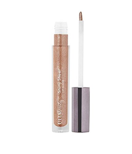Ulta Beauty - ULTA beauty Shiny Sheer Lip Gloss - Mocha (medium warm brown w/ multi-color shimmer and glitter), .10fl oz. / 3ml