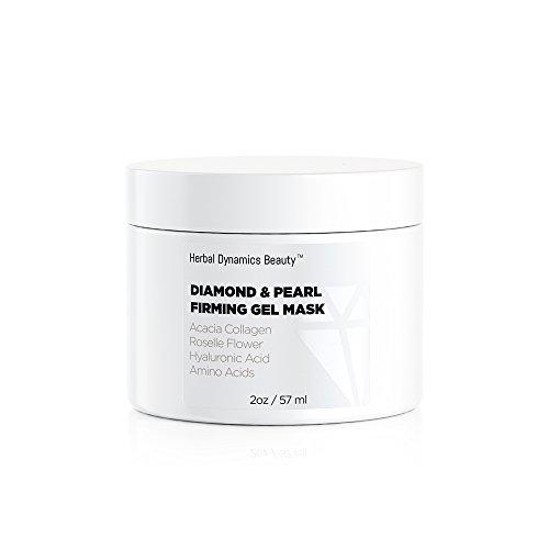 Herbal Dynamics Beauty -  Diamond + Pearl Firming Gel Mask