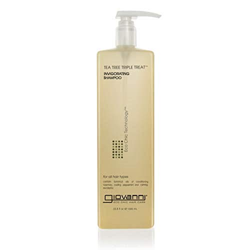 Giovanni - Giovanni Eco Chic Tea Tree Triple Treat - Invigorating Shampoo (33.8 Ounce)