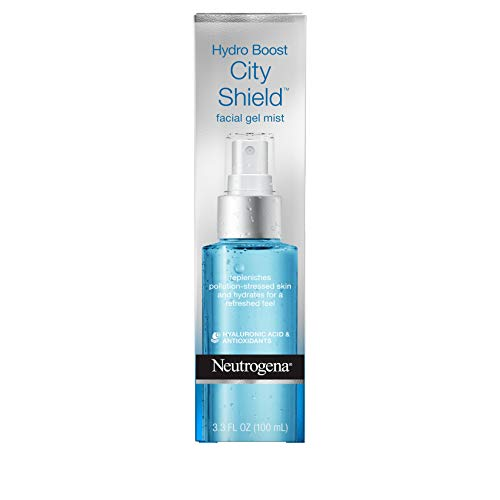 Neutrogena - Neutrogena Hydro Boost City Shield Replenishing Facial Mist Gel With Hydrating Hyaluronic Acid and Antioxidants, Non Comedogenic, 3.3 Fl. Oz