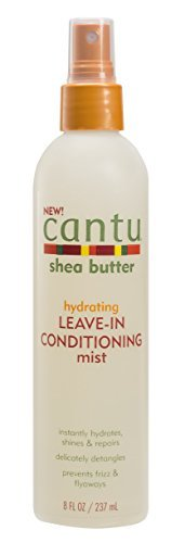 Cantu - Cantu Shea Butter Hydrating Leave in Conditioning Mist, 8 Fluid Ounce