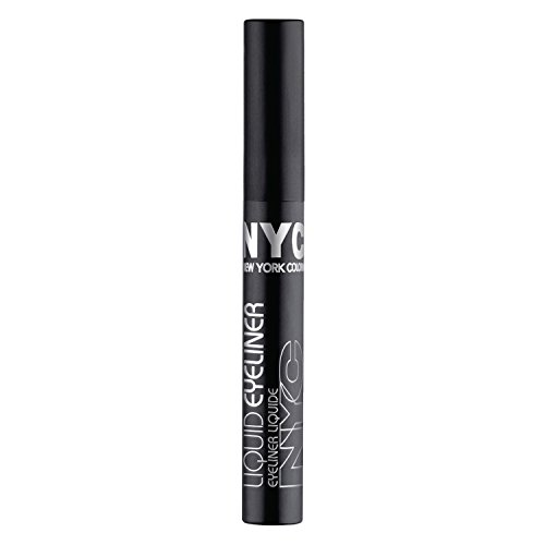 N.y.c. - New York Color Liquid Eyeliner, Extreme Black 0.15 oz