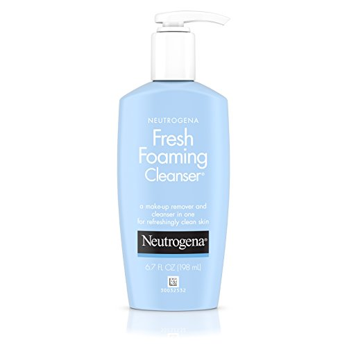 Neutrogena - Neutrogena Fresh Foaming Facial Cleanser & Makeup Remover with Glycerin, Oil-, Soap- & Alcohol-Free Daily Face Wash Removes Dirt, Oil & Waterproof Makeup, Non-Comedogenic & Hypoallergenic, 6.7 fl. oz