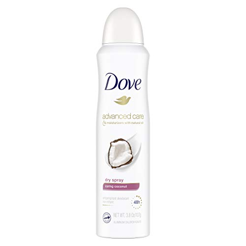 Dove Dove Dry Spray Antiperspirant Deodorant Caring Coconut 3.8 oz