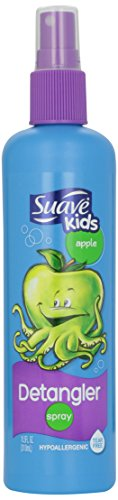 Suave - Suave Kids Detangling Spray, Double Dutch Apple 10.50 oz (Pack of 3)