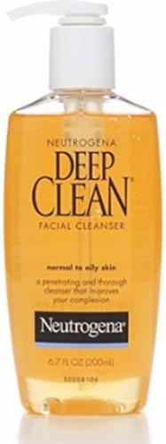 Neutrogena - Neutrogena Deep Clean Facial Cleanser, Normal To Oily Skin, 6.7 oz, 2 pk