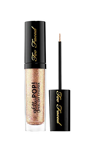 Toofaced - TOO FACED Glitter POP! Peel-Off Eyeliner - Yes Way Rose - rose gold glitter