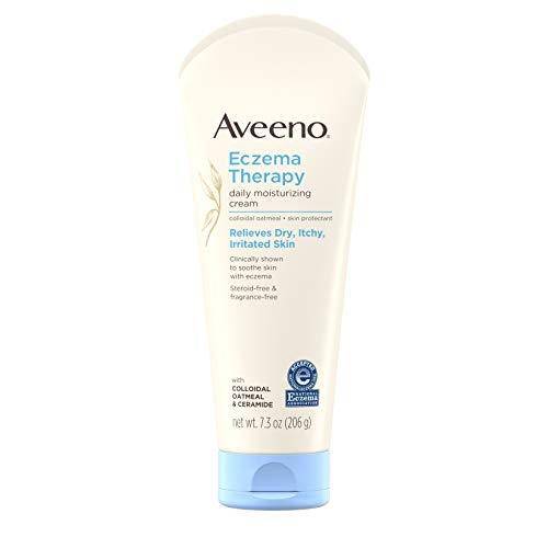 Aveeno - Aveeno Eczema Therapy Moisturizing Cream For Sensitive Skin, 7.3 Oz