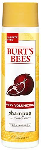 Burt's Bees - Burt's Bees Very Volumizing Pomegranate Shampoo, Sulfate-Free Shampoo - 10 Ounce Bottle