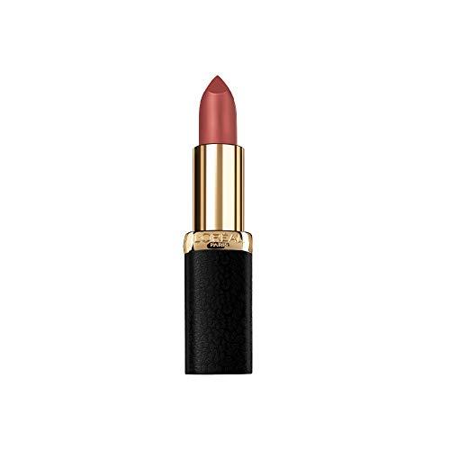 L'Oreal Paris - L'Oreal Paris Makeup Colour Riche Comfortable Creamy Matte Lipstick, 802 Matte-sterpiece, 0.13 oz.