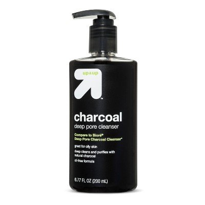 Up & Up Charcoal - Charcoal Deep Pore Cleanser - 6.77 fl oz - up & up153;