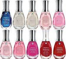 Sally Hansen - Lot of 10 Sally Hansen Diamond Strength Finger Nail Polish No Repeat Colors