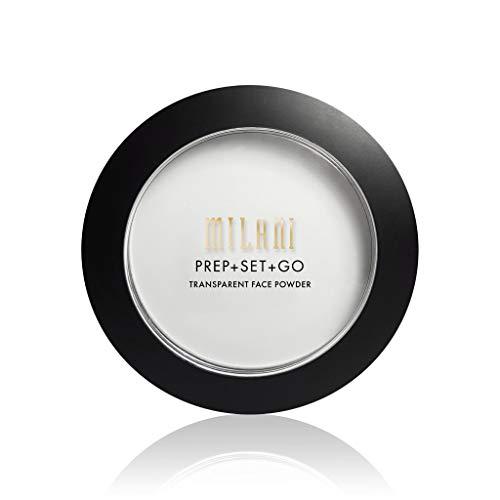 Milani - Milani Prep + Set + Go Transparent Setting Face Powder, Transparent, 0.24 Ounce