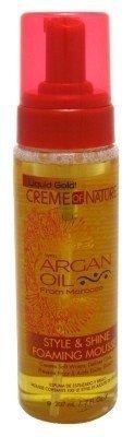 Creme of Nature - Argan Oil Style & Shine Foam Mousse