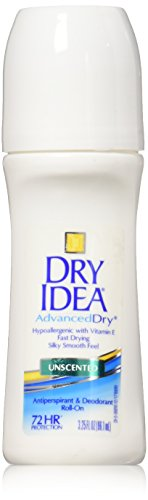 Dry Idea - Dry Idea Anti-Perspirant Deodorant Roll-On Unscented 3.25 oz (Pack of 6)