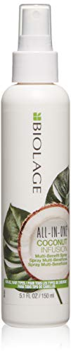 Biolage - BIOLAGE All-In-One Coconut Infusion | Multi-Benefit Treatment Spray For All Hair Needs | With Coconut | Sulfate & Paraben-Free| For All Hair Types