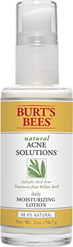 Burt's Bees - Burt's Bees Natural Acne Solutions Daily Moisturizing Lotion, Face Moisturizer for Oily Skin, 2 Ounces