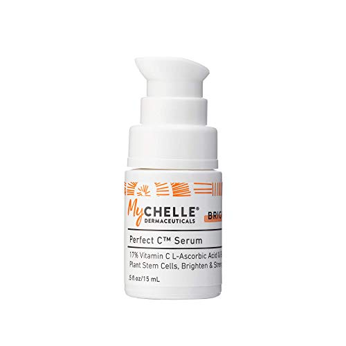 Mychelle Dermaceuticals - MyChelle Perfect C Serum, Advanced 17% L-Ascorbic Acid Vitamin C Serum for All Skin Types, 0.5 fl oz
