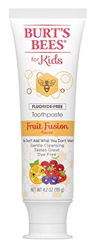 P&G-Burts Bees - Burts Bees Toothpaste Kids Fruit Fusion 4.2 Ounce No Flouride (2 Pack)