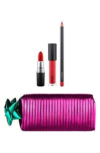 MAC - M.A.C. Shiny Pretty Things Goody Bag Red Lips Limited Edition