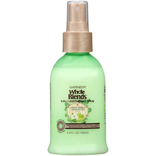 Garnier - Garnier Whole Blends Refreshing 5-in-1 Lightweight Detangler Spray, Normal Hair, 5 fl. oz.