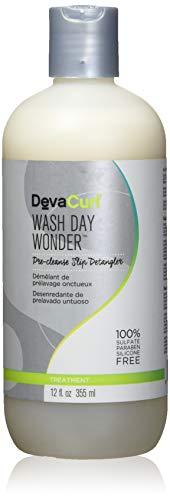 Devacurl - DevaCurl Wash Day Wonder; Pre-Cleanse Treatment; Slip Detangler; Silky and Lightweight; 12 Ounce