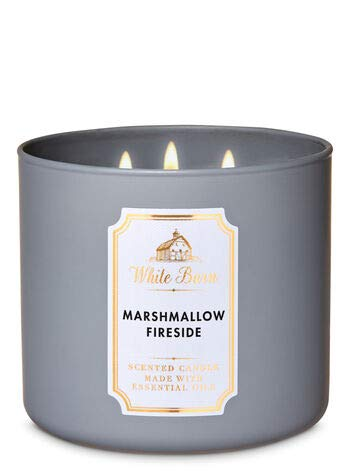 White Barn White Barn Marshmallow Fireside Candle