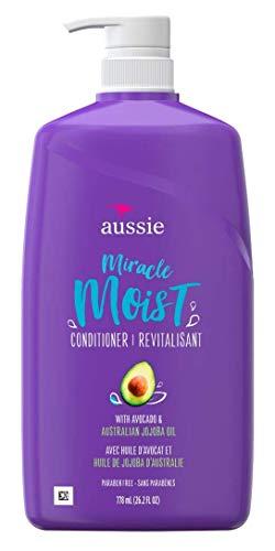 Proctor Ga - PROCTOR GA Aussie Paraben-free Miracle Moist Conditioner for Dry Hair, Avocado & Jojoba, 26.2 Oz (381519186783)