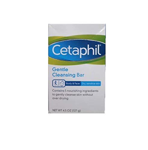 Cetaphil - Cetaphil Gentle Cleansing Bar for Dry/Sensitive Skin 4.50 oz (Packs of 6)