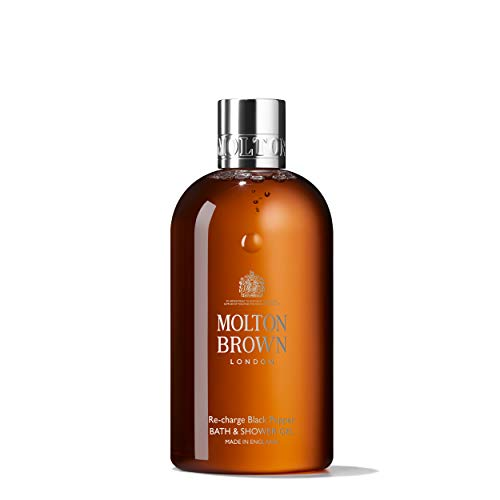 Molton Brown - Molton Brown Bath & Shower Gel, Re-Charge Black Pepper, 10 oz.