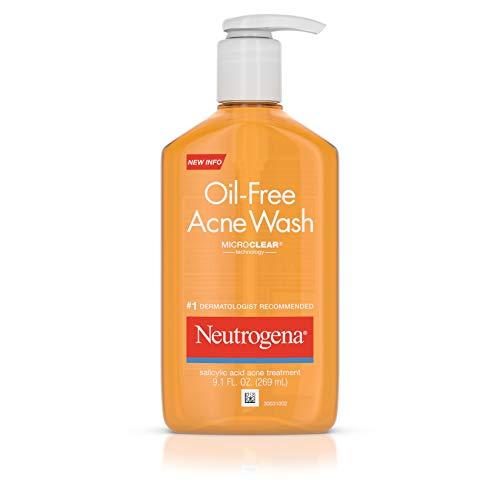 Neutrogena - Oil-Free Acne Fighting Face Wash, Salicylic Acid Acne Treatment