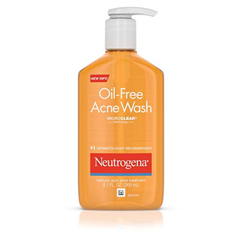 Neutrogena - Oil-Free Acne Fighting Face Wash, Salicylic Acid Acne Treatment