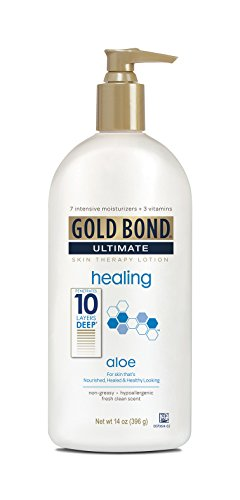 Gold Bond - Gold Bond Ultimate Healing Skin Therapy Lotion for Dry Skin, Aloe, 14 Ounce
