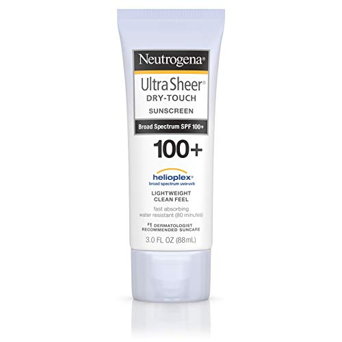Neutrogena - Neutrogena Sunblock, Ultra Sheer Dry-Touch SPF 55 - 3 oz, Pack of 2
