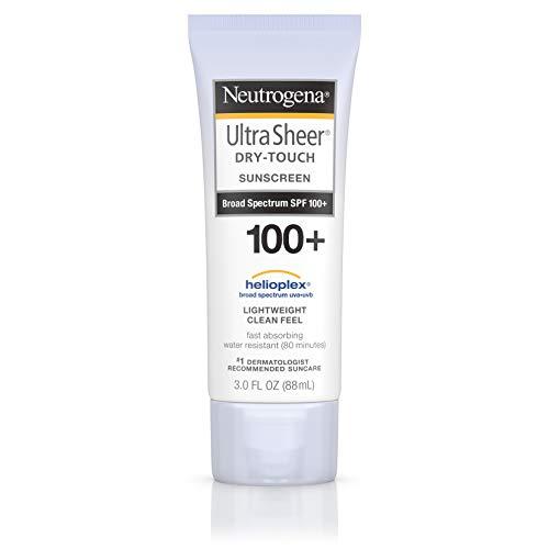 Neutrogena - Neutrogena Sunblock, Ultra Sheer Dry-Touch SPF 55 - 3 oz, Pack of 2