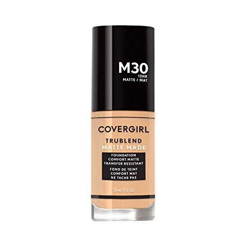 Covergirl - Covergirl Trublend Matte Made Liquid Foundation, M30 Honeyed Bloom, 1.014 Ounce