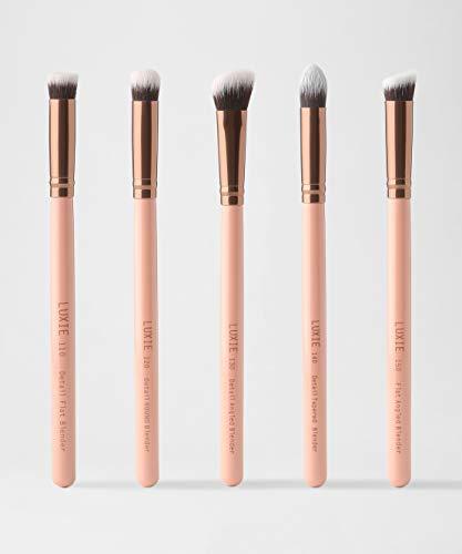 Luxie - Rose Gold Detail Face Brush Set