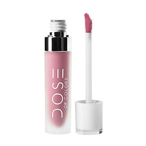 Dose of Colors - Liquid-Matte Lipstick, Stone