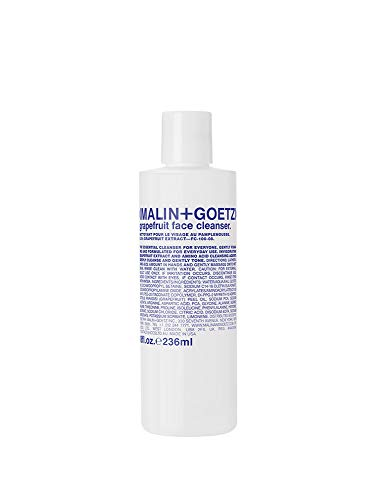 Malin+Goetz - Malin + Goetz Essential Grapefruit Face Cleanser-natural, gentle foaming, effective on ALL skin types, unisex. makeup remover, face wash, toner. clean, purify, balance. cruelty-free, vegan 8 Fl oz