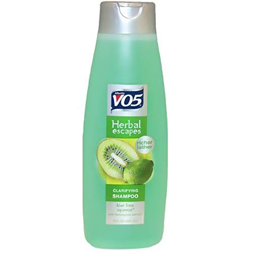 Alberto VO5 - Alberto VO5 Herbal Escapes Kiwi Lime Squeeze Clarifying Shampoo for Unisex, 12.5 Ounce