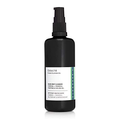 Odacite - Black Mint Cleanser, Charcoal + Rhassoul